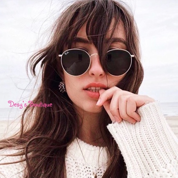 b44e8a6b86b ️SALE🎁NEW Ray-Ban Round Metal classic RB3447